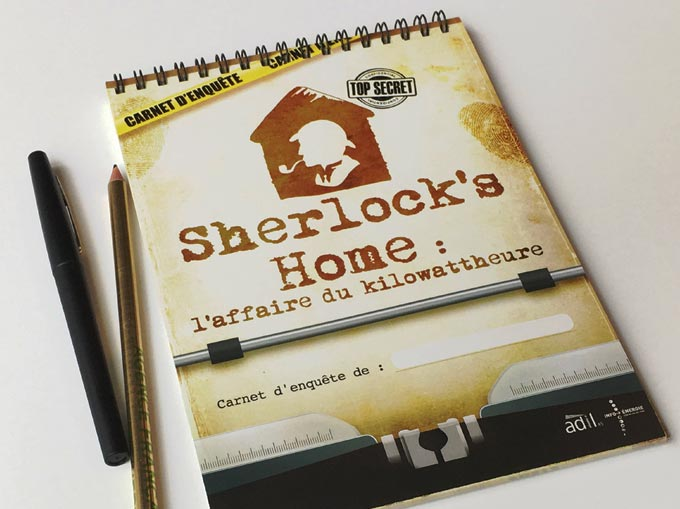 Sherlock's Home - Le carnet